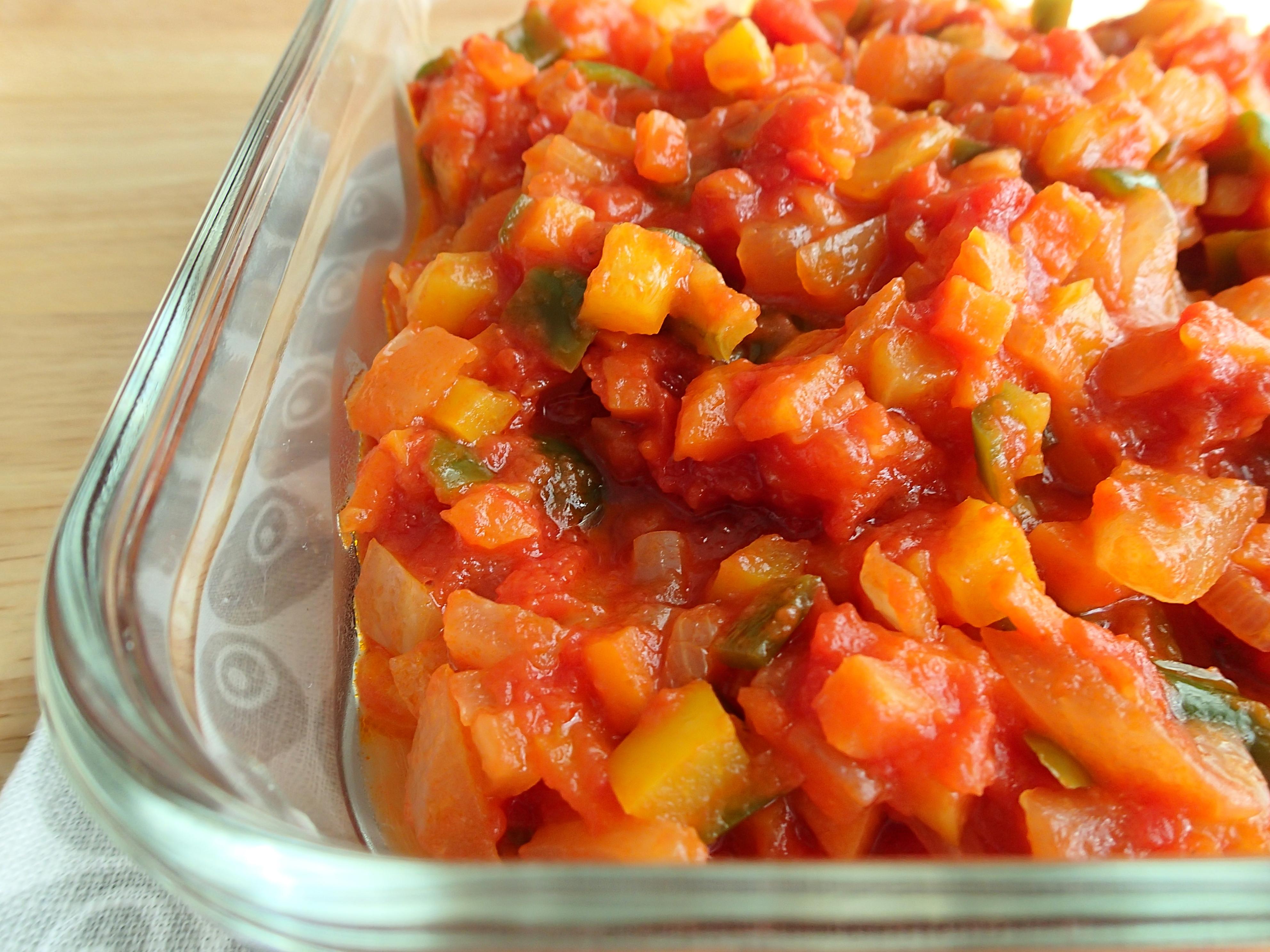 アレンジ トマト ソース