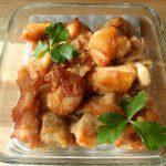 肉の簡単常備菜。オーブンであげないサクサクからあげ