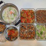 週末の作り置きレシピと常備菜レポート(2016年11月3週目)