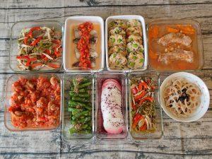 週末の作り置きレシピと常備菜レポート(2016年12月1週目)