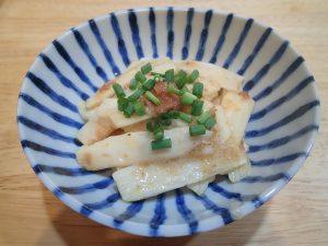 定番常備菜レシピ。長いもの梅おかか和え