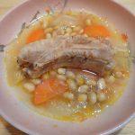 お豆と塩麹豚のポトフ