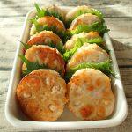 明太れんこんのふわふわ豆腐ハンバーグ