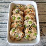 枝豆ひじきのふわふわ豆腐ハンバーグ