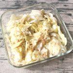 人気の常備菜レシピ。やみつき塩だれキャベツ