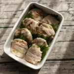 レンジで常備菜レシピ。れんこんのチーズ豚巻き