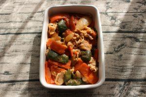 レンジで簡単常備菜レシピ。揚げない酢豚