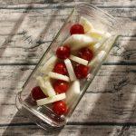簡単常備菜レシピ。プチトマトと大根の塩麹サラダ