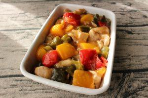 レンジで簡単常備菜レシピ。甘酢あんが美味しい酢鶏