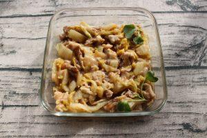 レンジで簡単・豚肉と白菜の中華あんかけ