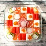 おひな祭りに・簡単モザイク寿司