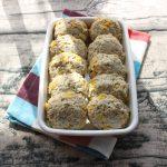 パクリと食べやすい。レンジで簡単常備菜。あおのりマヨコーン鶏つくね