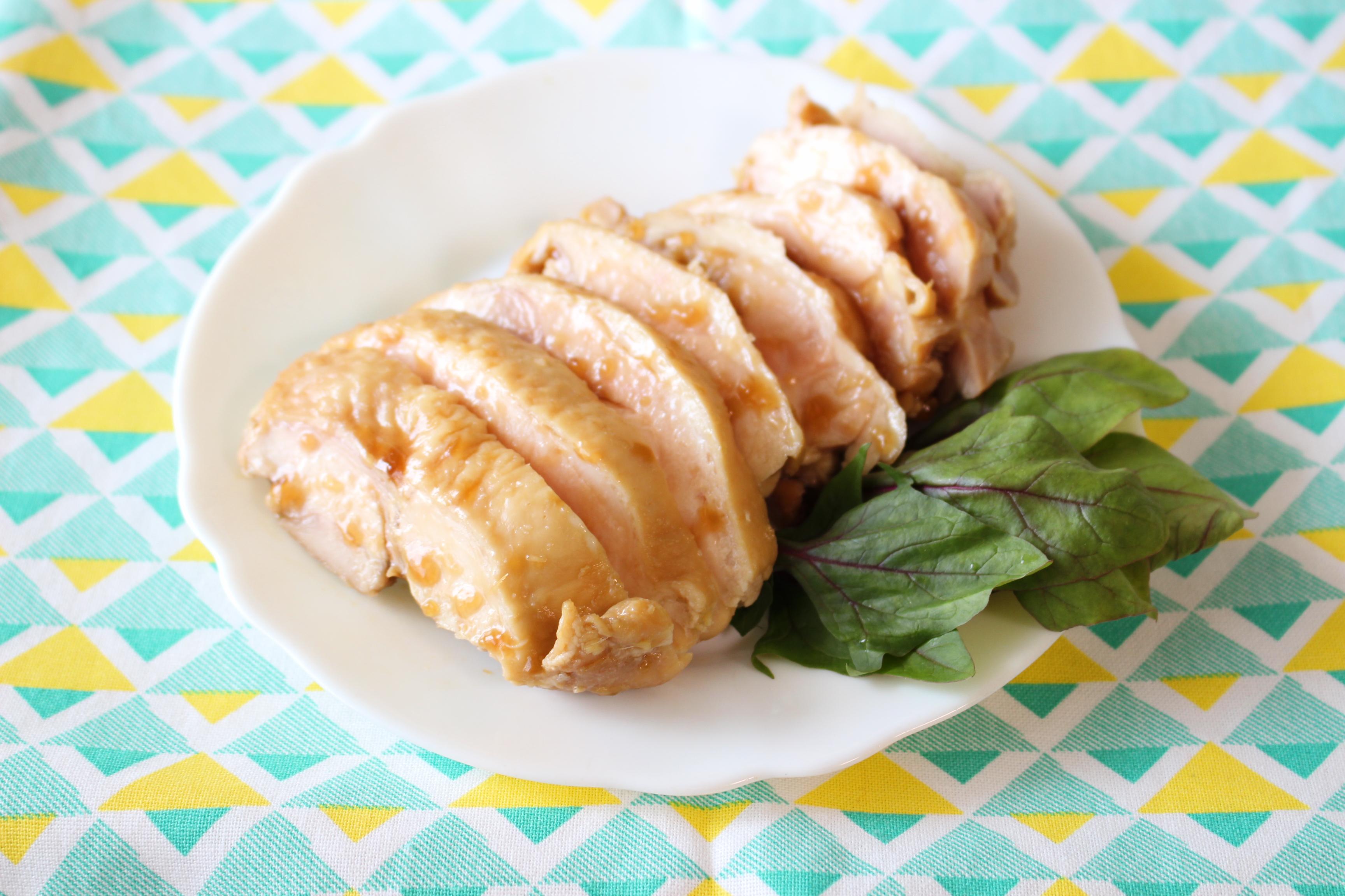 レンジ 鶏 胸 肉