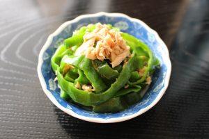 人気の簡単常備菜レシピ。やみつき無限ピーマン