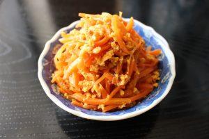 レンジで簡単常備菜レシピ。にんじんしりしり
