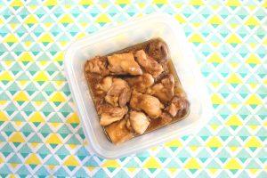 レンジで簡単。肉の常備菜レシピ。てりやきあんかけチキン