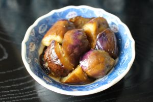 レンジで簡単なすだけ常備菜レシピ。なすの味噌あえ