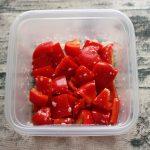 簡単で日持ちするお弁当の常備菜レシピ。パプリカの塩麹サラダ