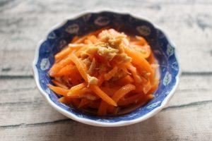 人気の簡単常備菜レシピ。やみつき無限にんじん