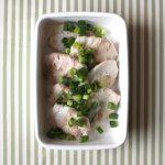 レンジで簡単お弁当おかず。長いもの豚しそ巻き