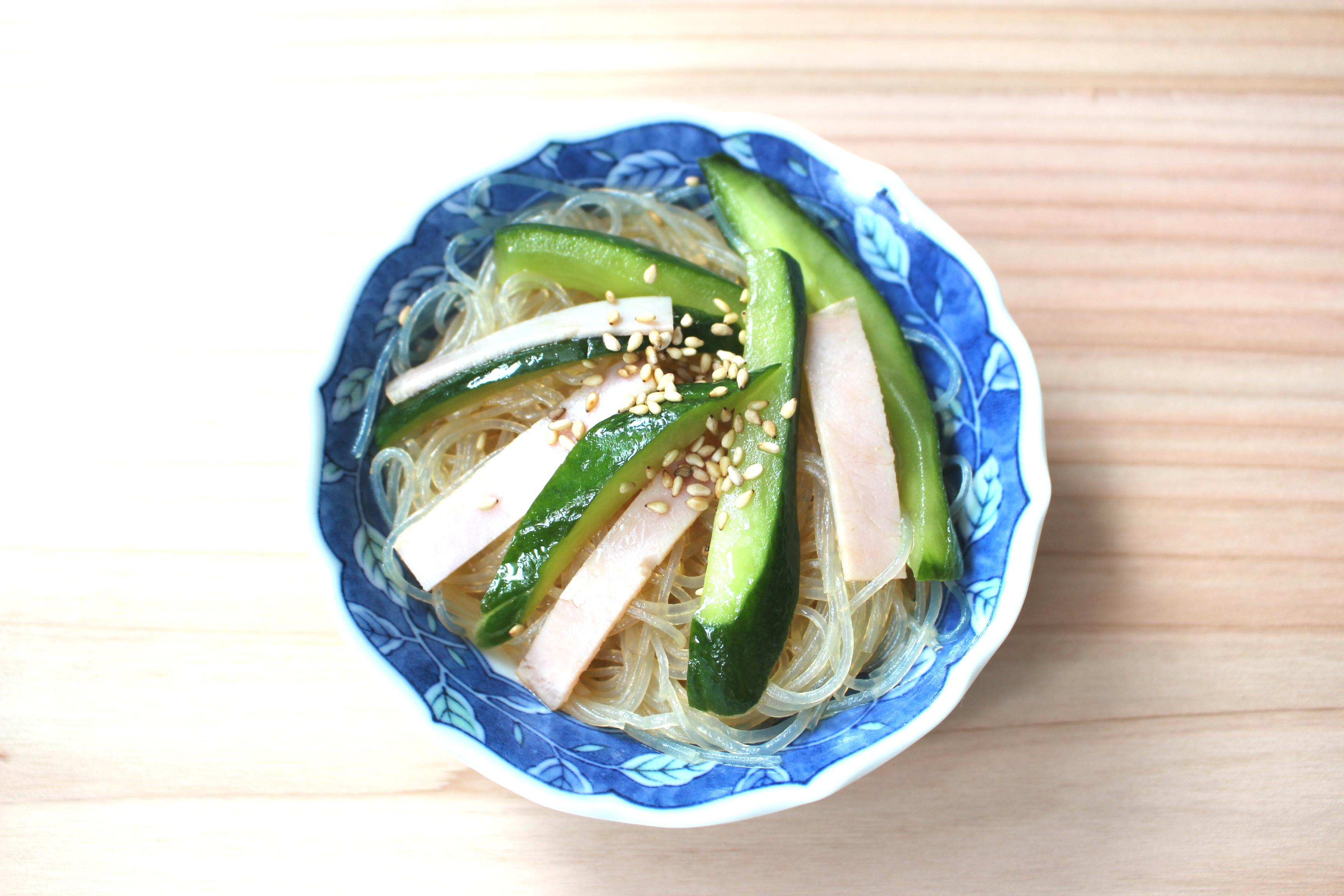 中華 春雨 サラダ 簡単