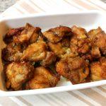 オーブンでサクサク簡単。あげない唐あげカレー味