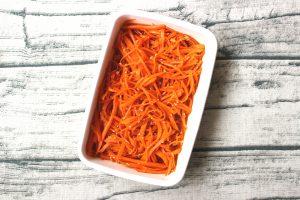 日持ちする作り置き常備菜レシピ。にんじんの中華風サラダ