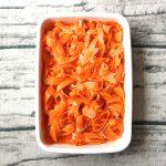 デパ地下風。簡単作り置き常備菜レシピ。にんじんのピーラーツナサラダ