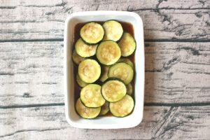 レンジで簡単常備菜。ズッキーニのサラダ