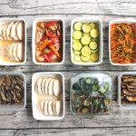 夏向きのさっぱりおかず中心。週末の作り置きレシピと常備菜レポート(2017年8月27日)