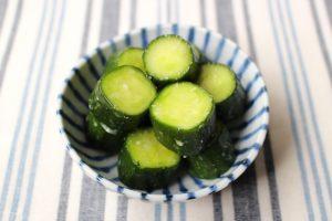 日持ちする簡単きゅうりの常備菜(漬物)やみつきしおだれきゅうり