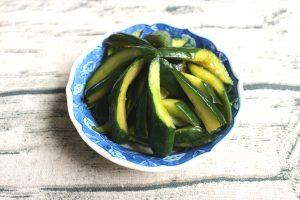 簡単常備菜ぽりぽり食べやすい浅漬け。きゅうり南蛮