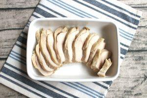 糖質オフ。ゆずこしょう味の鶏ハムの作り方。サラダチキンの再現レシピ。