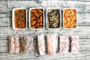 下味冷凍つくりおきおかずと常備菜レポート(2017年9月24日)