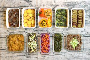 90分で10品。週末の作り置きレシピと1週間の常備菜レポート(2017年10月15日)