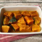 レンジでほっこり。かぼちゃのコンソメ煮