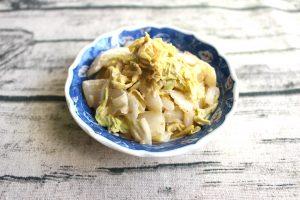 もりもり食べられる常備菜。白菜のごまポンサラダ