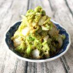 5分で作れる常備菜。やみつき白菜の中華風サラダ