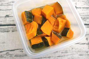 レンジで簡単さっぱり美味しい。かぼちゃの塩レモン煮