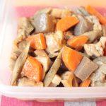 人気の簡単常備菜レシピ。美味しい筑前煮。レンジで簡単つくりおき。