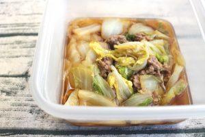 レンジで7分簡単つくりおきおかず。白菜と豚ひき肉のかさね蒸し