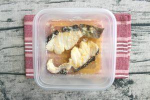 魚の簡単つくりおきおかず。タラのうま塩バター