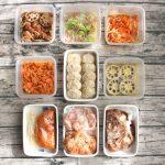 80分で10品!節約野菜で1週間の作り置きおかず簡単レシピと常備菜レポート(2018年1月21日)