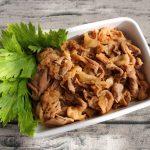 お肉のつけおき常備菜。コクうま生姜焼き
