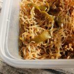 人気のレンジで簡単常備菜レシピ。ピーマン春雨チャプチェ