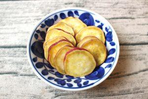 人気の簡単常備菜レシピ。つぶさないスイートポテト。さつまいものうま塩バター
