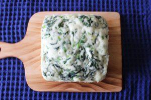 レンジとホットケーキミックスで簡単卵なしレシピ。ふわふわほうれん草チーズ蒸しパン