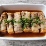 人気の簡単常備菜レシピ。あつあげの豚肉巻き南蛮