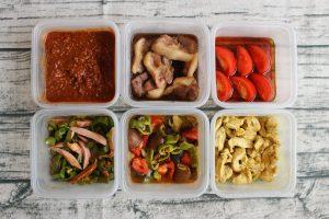 48分で7品。1週間の作り置きおかず簡単レシピと常備菜レポート(2018年6月17日)