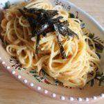 レンジでゆでるパスタのレシピ。人気の和風たらこスパゲッティ